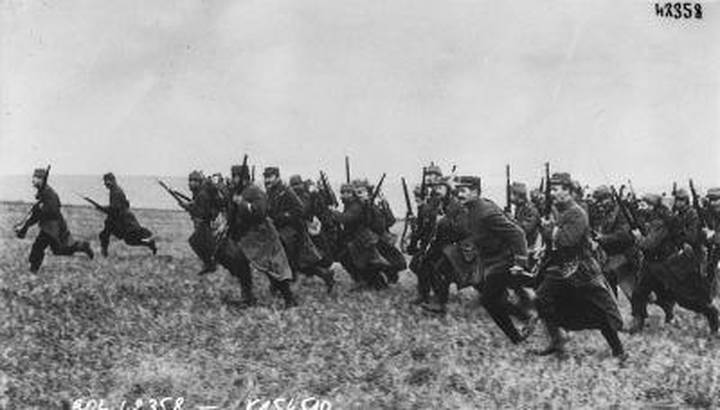 French Infantry charge