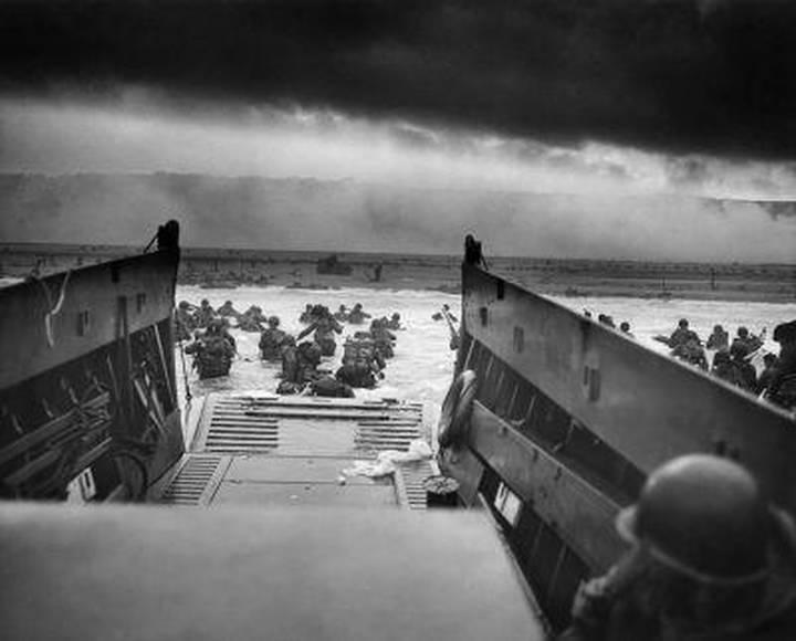 Landing at Omaha Beach