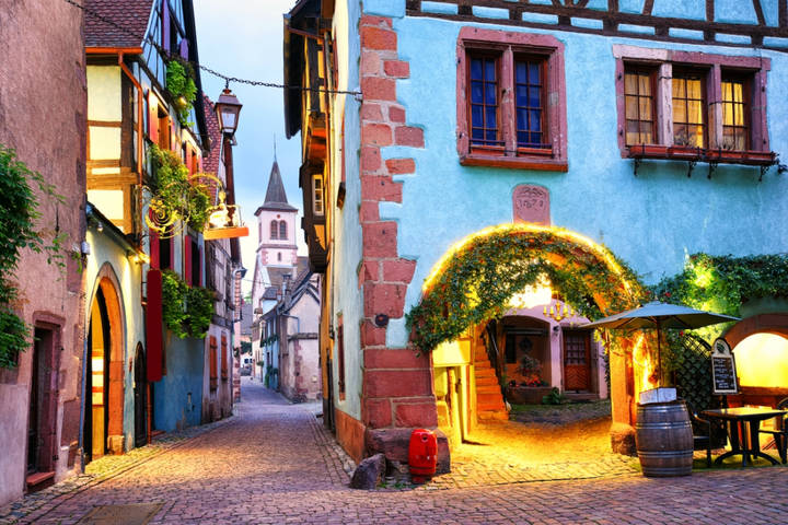 Colorful Town of Riquewihr