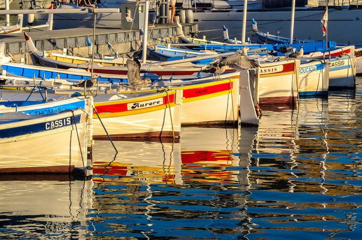 Cassis Harbour by Colin Page