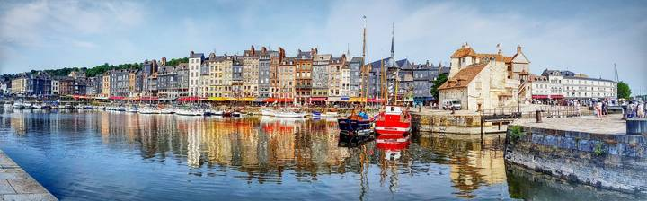Panoramic of Honfleur