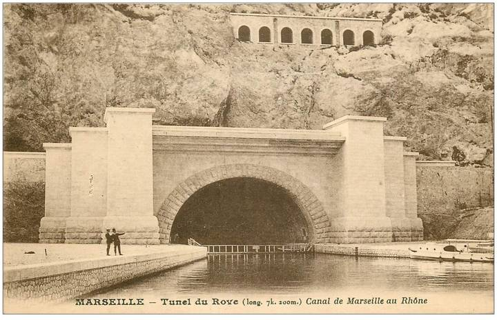 Rove Tunnel in 1929