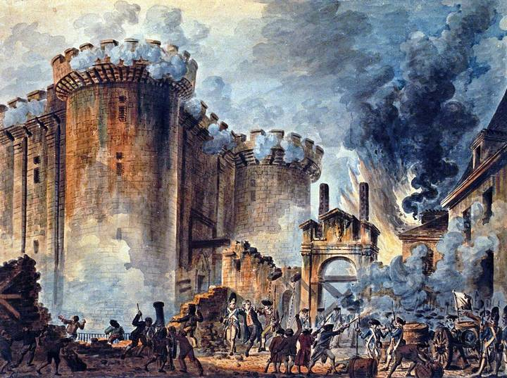 The Storming of the Bastille is widely regarded as the most iconic event of the Revolution